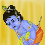 How to Draw Baby Krishna