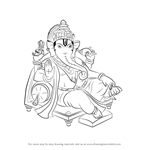 How to Draw Ganpati