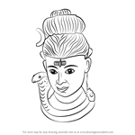 How to Draw Lord Shiva Statue