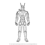 How to Draw Chappie the Robot from CHAPPiE