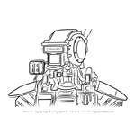 How to Draw Chappie from CHAPPiE