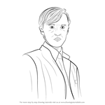 How to Draw Draco Malfoy from Harry Potter
