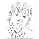 How to Draw Ron Weasley from Harry Potter