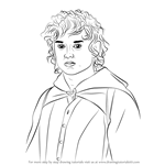 How to Draw Frodo Baggins from Lord of the Rings