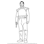 How to Draw Bail Organa from Star Wars