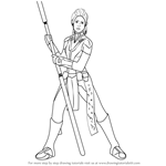 How to Draw Bastila Shan from Star Wars