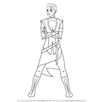 How to Draw Callista Ming from Star Wars