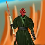 How to Draw Darth Maul from Star Wars