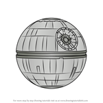 How to Draw Death Star
