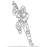 How to Draw Dengar from Star Wars