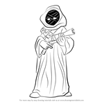 How to Draw Jawa from Star Wars