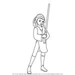 How to Draw Katooni from Star Wars