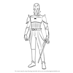 How to Draw The Grand Inquisitor from Star Wars
