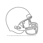 How to Draw Baseball Helmet