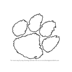 How to Draw Clemson Tigers Logo