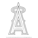How to Draw Los Angeles Angels of Anaheim Logo