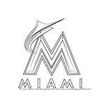 How to Draw Miami Marlins Logo