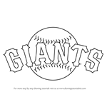 How to Draw San Francisco Giants Logo