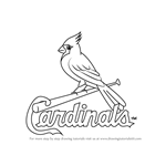 How to Draw St. Louis Cardinals Logo