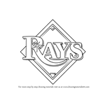 How to Draw Tampa Bay Rays Logo