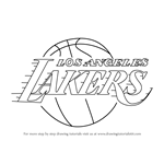 How to Draw Los Angeles Lakers Logo