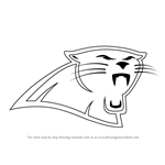 How to Draw Carolina Panthers Logo