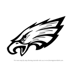 How to Draw Philadelphia Eagles Logo