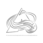 How to Draw Colorado Avalanche Logo