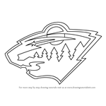 How to Draw Minnesota Wild Logo
