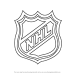 How to Draw NHL Logo