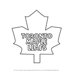 How to Draw Toronto Maple Leafs Logo