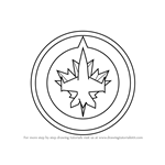 How to Draw Winnipeg Jets Logo