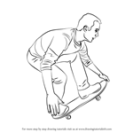 How to Draw a Skateboarder