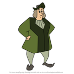 How to Draw Christopher Columbus from Carmen Sandiego