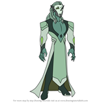 How to Draw Horde Prime from She-Ra and the Princesses of Power