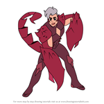 How to Draw Scorpia from She-Ra and the Princesses of Power