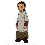 How to Draw Riley Freeman from The Boondocks