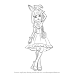 How to Draw Bunny Blanc from Ever After High