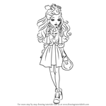 How to Draw Darling Charming from Ever After High