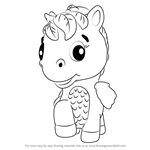 How to Draw Ponette from Hatchimals