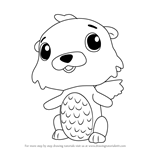 How to Draw Swotter from Hatchimals