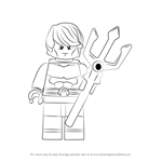 How to Draw Lego Aquaman