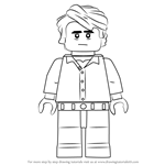 How to Draw Lego Bruce Banner