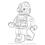 How to Draw Lego Cyborg