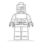 How to Draw Lego Cyclops