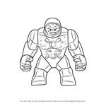 How to Draw Lego Darkseid