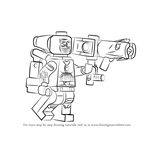 How to Draw Lego Deadshot