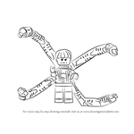 How to Draw Lego Doc Ock