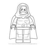 How to Draw Lego Dr. Doom