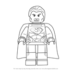 How to Draw Lego General Zod